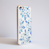 Blue Florals Bumper Phone Case Side | Available at Dessi-Designs.com