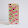 Cherries  Bumper Clear Phone Case Front | Available at Dessi-Designs.com
