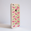 Cherries Bumper Clear Phone Case Side | Available at Dessi-Designs.com