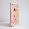 Clear Cherry Blossom Bumper Phone Case Side | Available at Dessi-Designs.com