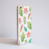 White Fall Leaves iPhone Bumper Phone Case Side | Available at Dessi-Designs.com