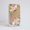 Clear Summer Florals Bumper Phone Case Front | Available at Dessi-Designs.com
