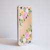 Clear Summer Florals Bumper Phone Case Side | Available at Dessi-Designs.com