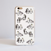 White Penguins Bumper Phone Case Front | Available at Dessi-Designs.com