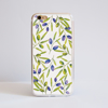 White Olive iPhone Bumper Phone Case Front | Available at Dessi-Designs.com