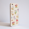 Mushrooms iPhone Bumper Phone Case Side | Available at Dessi-Designs.com