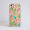 Fall Leaves Clear iPhone Bumper Phone Case White | Available at Dessi-Designs.com