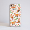 Orange Foxes Impact Phone Case iPhone White | Available at Dessi-Designs.com