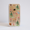 Forest Print Clear Bumper iPhone Case | Available at www.Dessi-Designs.com