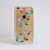 Clear Ducks Bumper Phone Case Front | Available at Dessi-Designs.com