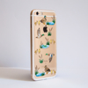 Clear Ducks Bumper Phone Case Side | Available at Dessi-Designs.com