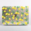 Clear Lemons MacBook Case Front. Available at www.Dessi-Designs.com