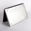 Polar Bears Transparent  MacBook Case Bottom Side. Available at www.Dessi-Designs.com