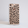 Leopard Print iPhone 7 Impact Phone Case White Frame  - Available at Dessi-Designs.com