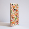 Foxes Clear Bumper iPhone Case Gold | Available at Dessi-Designs.com