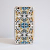 Kaleidoscope Animal Print Bumper Phone Case Gold Frame | Available at www.Dessi-Designs.com
