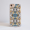 Kaleidoscope Animal Print Impact Phone Case White Frame | Available at www.Dessi-Designs.com