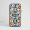 Kaleidoscope Animal Print Impact Phone Case Grey Frame | Available at www.Dessi-Designs.com