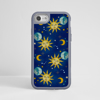 Vintage Celestial Impact Phone Case Grey Frame | Available at www.Dessi Designs.com