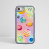 Magical Cosmos Impact Resistant Phone Case Grey Frame | Available at www.dessi-designs.com