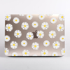 Daisy Florals Clear MacBook Case | Available at Dessi-Designs.com