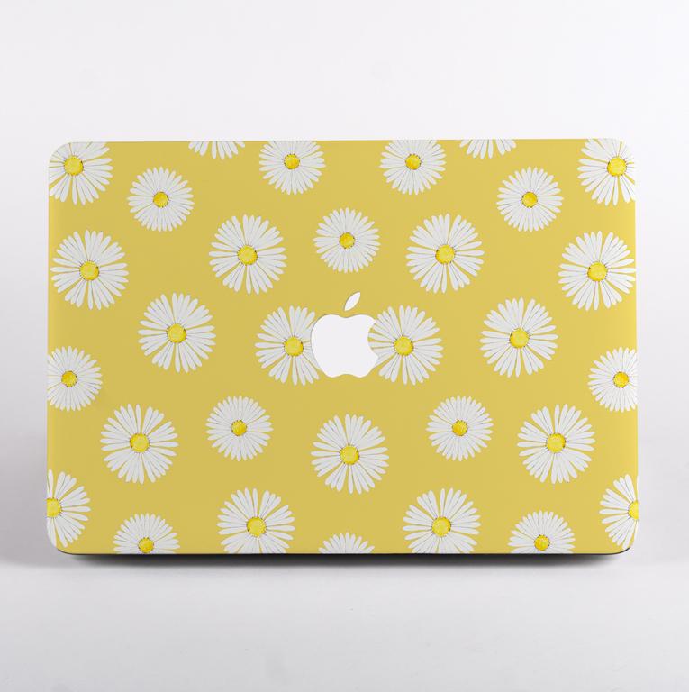 Daisy Florals Hard MacBook Case | Available at Dessi-Designs.com
