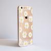 Bumper Phone Case Daisy Flowers Side