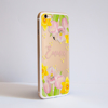Spring Flowers Clear Bumper Case Side| Available at Dessi-Designs.com