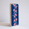 Blossoms in Pink and Blue iPhone 8 Case Side | Available at www.dessi-designs.com