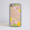 Spring Flowers Impact Phone Case Grey - www.dessi-designs.com