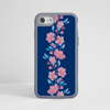 Blossoms in Pink and Blue Impact Phone Case Grey - www.dessi-designs.com