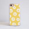 Daisy Impact Phone Case White - www.dessi-designs.com