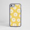 Daisy Impact Phone Case Grey - www.dessi-designs.com