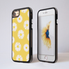 Daisy Impact Phone Case Black Side - www.dessi-designs.com