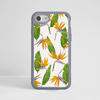 Paradise Flower Impact Phone Case Grey - www.dessi-designs.com