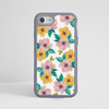 Watercolour Floral Blossom Impact Phone Case Grey - www.dessi-designs.com
