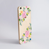 Summer Florals Clear Plastic Phone Case Side - ww.dessi-designs.com