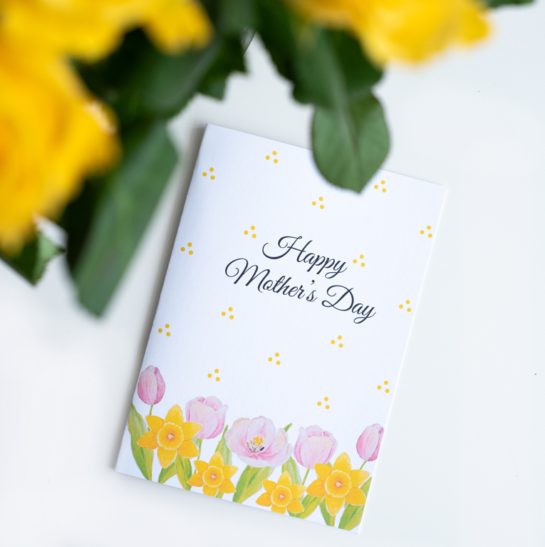 Happy Mother's Day card | Available at www.dessi-designs.com
