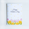Floral Happy Mother's Day card  | Available at www.dessi-designs.com