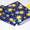 Blue Vintage Celestial A5 Notebook - www.Dessi-Designs.com