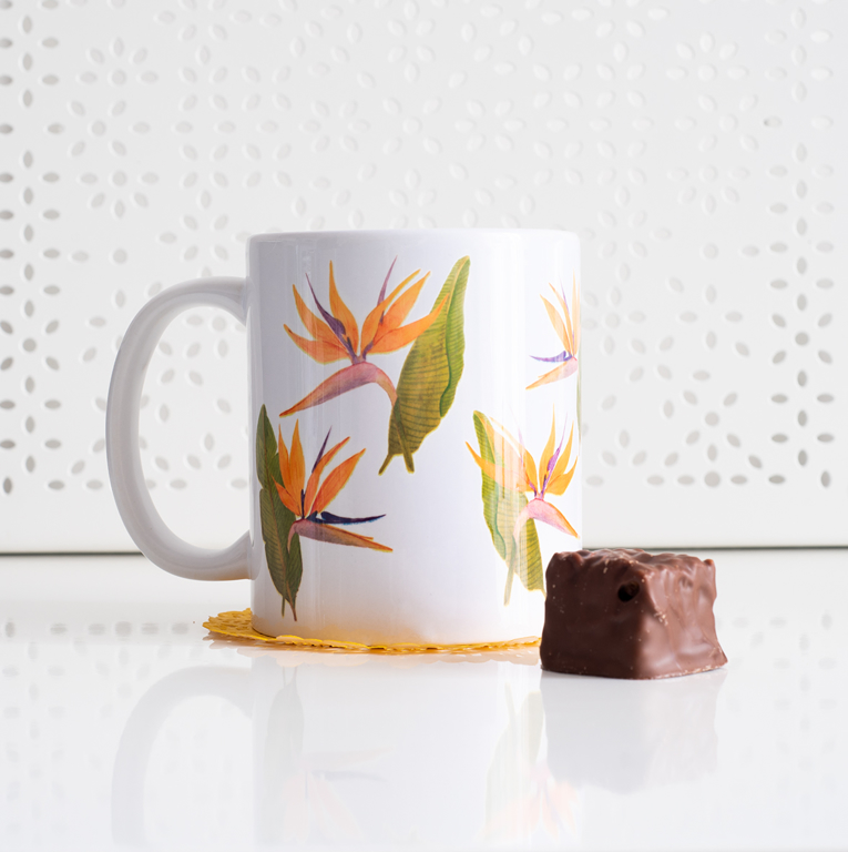 Birds of Paradise Coffee Mug - www.dessi-designs.com