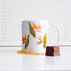 Birds of Paradise Tea Mug - www.dessi-designs.com