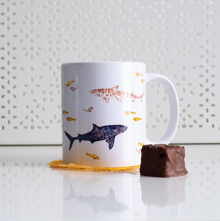 Sharks Coffee Mug - www.Dessi-Designs.com