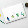 Cactus Stickers 10x10cm | Available at www.dessi-designs.com