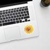 Sunflowers Vinyl Stickers  | Available at www.dessi-designs.com