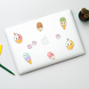Cute Ice Cream Vinyl Stickers | Available at www.dessi-designs.com
