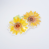 Sunflower Paper and Vinyl Stickers | Available at www.dessi-designs.com