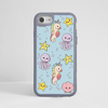 Cute Sea Creatures Impact Case Grey | Available at www.dessi-designs.com