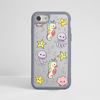 Cute Sea Creatures  Impact Case Grey  | Available at ww.dessi-designs.com