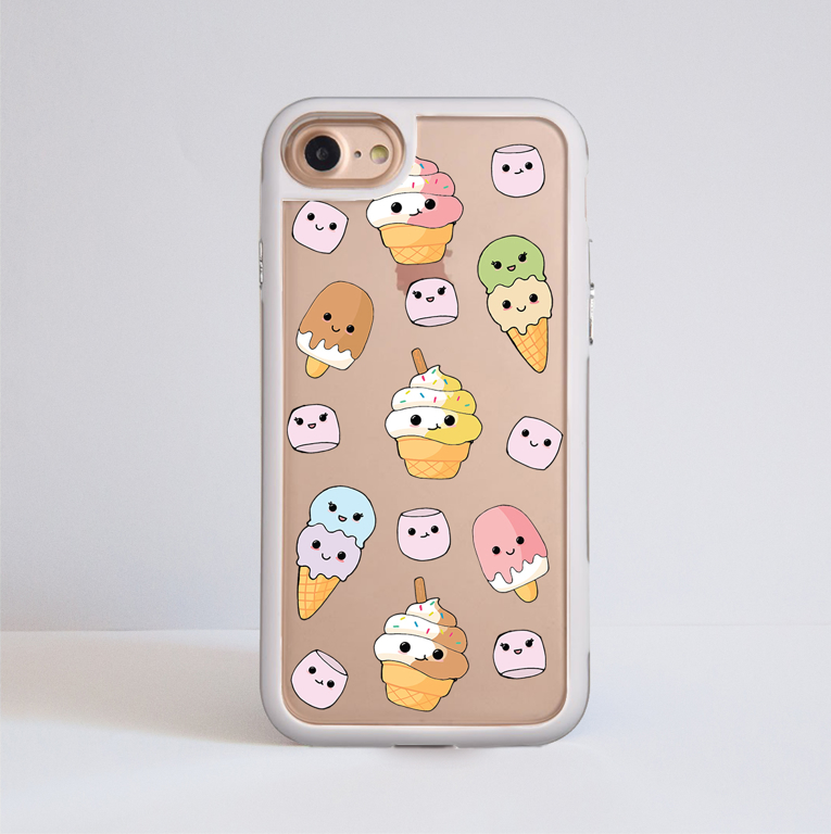 Cute Ice Cream Impact Case | Available at www.dessi-designs.com